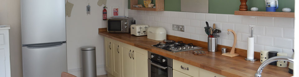 Holiday cottage North Norfolk Kitchen